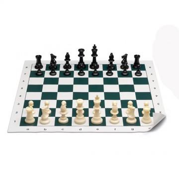 Шах със силиконова шахматна дъска